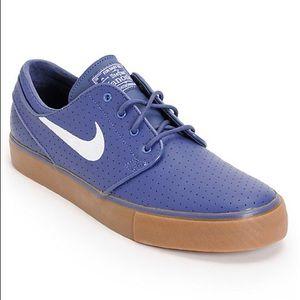 Nike SB Zoom Stefan Janoski Perforated Blue Skate